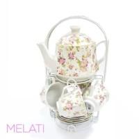 Tea Set Mawar Melati Vicenza C78N