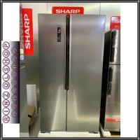 KULKAS SHARP SJ-IS50M-SL SIDE BY SIDE INVERTER SHARP SJ-IS50MSL