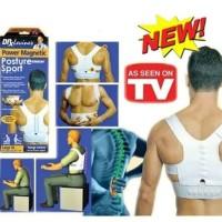 Dr Levine power magnetic posture sport/penyangga postur tubuh sizeM pc