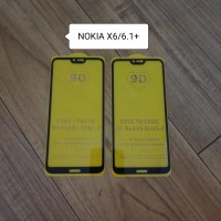 Nokia X6 6.1Plus Tempered Glass Full cover