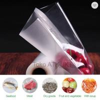 Refill Vacuum Sealer Plastik 10x15 / 15x20 / 20x30 / 28x35 - 100 Lbr