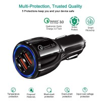 Car Charger Mobil Dual Port 3.1A