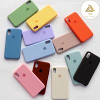Premium Silicone Case Iphone XS Max Softcase POLOS Full Cover Original