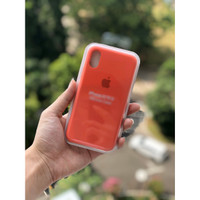 Premium Silicone Case iPhone X / XS Softcase Polos Casing Soft Case