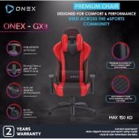ONEX GX3 Premium Quality Gaming Chair Kursi - RED