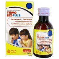 Termorex Plus Sirup 60 ml - Obat Demam Pusing Flu Batuk Pilek Anak