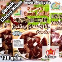 Guiling Grass Jelly Powder Serbuk Cincau Hitam Puding Happy Grass 110g