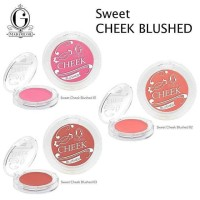Madame Gie Sweet Cheek Blushed - MakeUp Blush On Powder Matte
