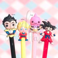 Pulpen Gel Dragon Ball Goku Anime Karakter Pena Bolpen Lucu GH 307002