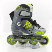 Sepatu Roda Lynx BM 137 NEW Grey/Green