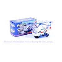 Mainan Helicopter Police Bump & goBaterai I mainan edukatif helikopter