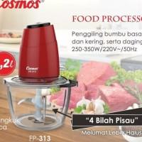 COSMOS : FOOD PROCESSOR / PELUMAT COSMOS FP 313 4 BLADE CHOPPER