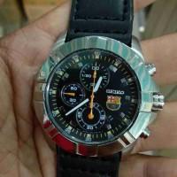 jam tangan seiko sport chronograph siap pakai kondisi baik muluss