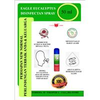Desinfektan cap lang eagle eucalyptus spray 50 ml