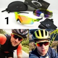 kacamata gowes sepeda premium o*kl*y radar ev