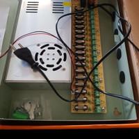 New Murah cct power suply adaptor 12v 30A Box / cctv / led / elektonik