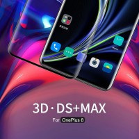 Tempered Glass OnePlus 8 Nillkin Anti Explosion 3D DS+ Max FULL GLUE