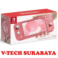 NINTENDO SWITCH LITE PINK CORAL EDITION