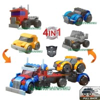 Mainan LEGO 4 in 1 Transformers City Car Merek Great Friend (dapat 4)