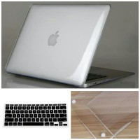 Casing Mac Air 13 Lama + Keyboard Cover MacBook Air 2009-2017