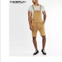 fashion loose men jumpsuit overall big size / baju monyet besar