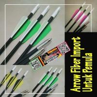 Arrow Anak Panah Fiber 6mm IMPORT
