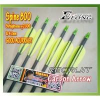 ARROW ELONG RECRUIT 800 ID 4.2 PURE CARBON Anak Panah Karbon