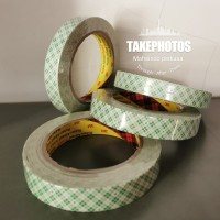 Double tape 3m 4032 / Dobel tip batik hijau 18mm x 4,5m