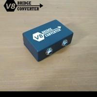 V8 brigde converter dual channel 6.5mm to 3.5mm