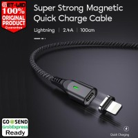Kabel Data Magnet Lightning iPhone iPad Fast Charging MGL100