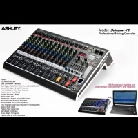 MIXER AUDIO ASHLEY SELECTION12 12CH USB-BLUETOOTH RECORDING TO PC