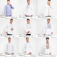 PREVIEW by ITANG YUNASZ - Koko Baju Muslim Lengan Panjang Pria