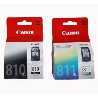 Tinta Canon pixma 810 black + 811 Color cartridge for IP2770, IP2772
