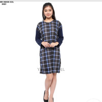 Baju Mini Dress Lengan Panjang Murah Wanita Kekinian