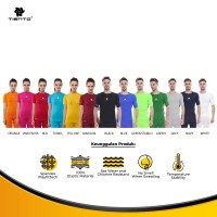 Tiento Unisex Baselayer Baju Olahraga Short Sleeve Original Multicolor