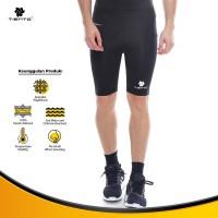Baselayer Manset Tiento Short Pants Black White Original