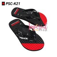 Sandal Jepit Dewasa Pria Cube Point PSC-K21 Sendal Capit Distro Ori