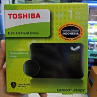 HARDISK EXTERNAL TOSHIBA 1TB CANVIO READY