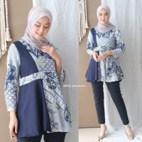 Batik Wanita Modern - Blouse Batik Wanita - Atasan Batik