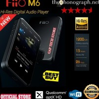 Fiio M6 / M 6 High Resolution Digital Audio Player Original