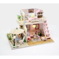 Miniatur Rumah Boneka DIY - Diorama - Puzzle