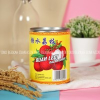 Red Boat Lychees In Syrup 567gr / Buah Leci Dalam Sirup / Lychee