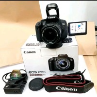 Camera Canon eos 700D DSLR Touchscreen Lensa kit 18-55 mm Stm