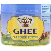 Organic Valley, Ghee Clarified Butter, 7.5 oz (212 g)
