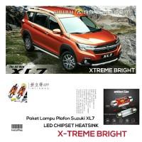 Paket isi 2 Lampu LED Kabin Plafon Mobil Suzuki XL7 Chipset CSP Xtrime