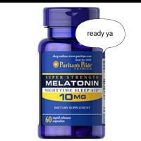suplemen insomnia(MELATONIN.) melatonin 10 mg puritans pride isi 60