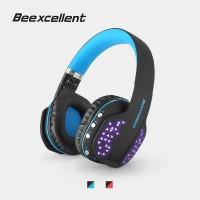 Beexcellent Q2 Headset Gaming Lipat Wireless dengan Mic + LED untuk
