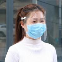 '' Masker Penutup Visor Pelindung Wajah Penuh Anti Debu ''