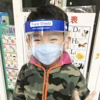 '' Masker Pelindung Wajah Anti Debu / Kabut untuk Anak ''