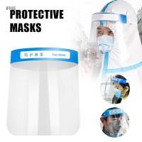 Masker Pelindung Wajah Transparan Bahan Breathable